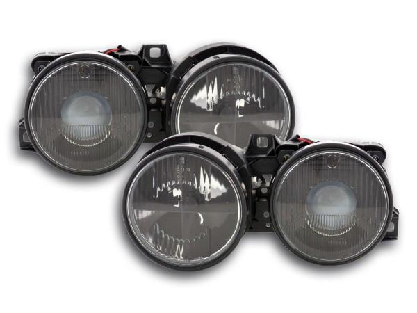 headlight BMW serie 3 E30 black