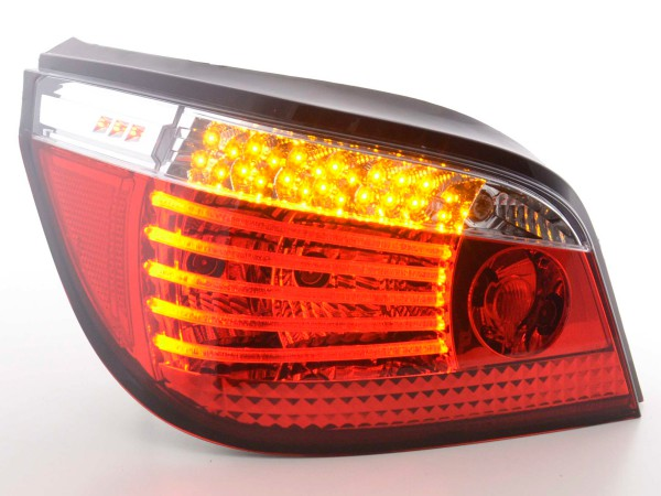 Led Taillights BMW serie 5 saloon type E60 Yr. 03- clear/red