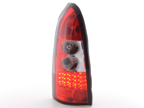 Led Taillights Opel Astra G Caravan Yr. 98-03 clear/red