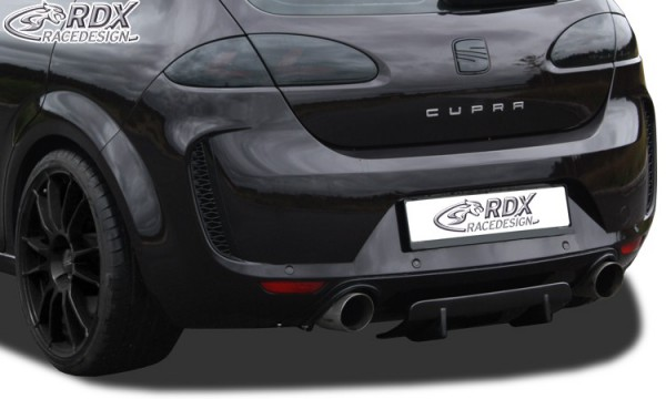 RDX Rear Diffusor U-Diff Seat Leon 1P (all models, also FR, Cupra, Aerokit,     )