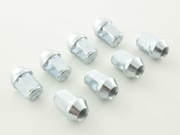 Nuts Set (8 pieces), 1 / 2 UNF 34mm Taper