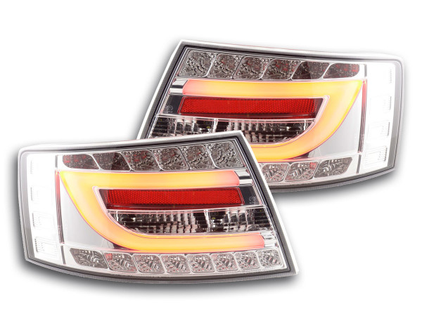 Taillights LED Audi A6 saloon (4F) Yr. 04-08 chrome