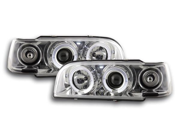 headlight Volvo 850 Yr. 92-97 chrome