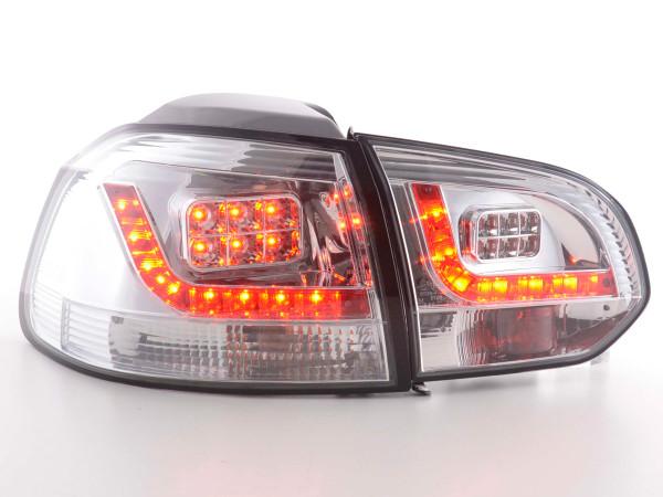 Led Taillights VW Golf 6 type 1K Yr. 2008-2012 chrome