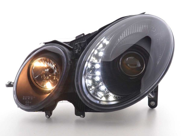 Daylight headlight Mercedes E-Classe 211 Yr. 02-06 black