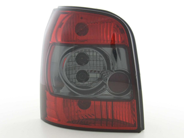 Taillights Audi A4 Avant type B5 Yr. 95-00 black red