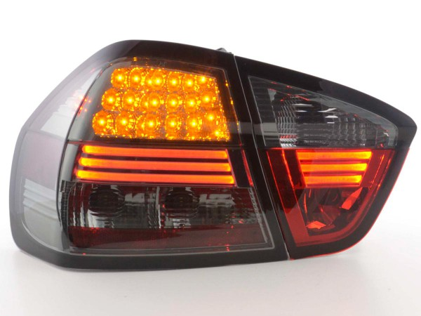 Led Taillights BMW serie 3 saloon type E90 Yr. 05-08 black