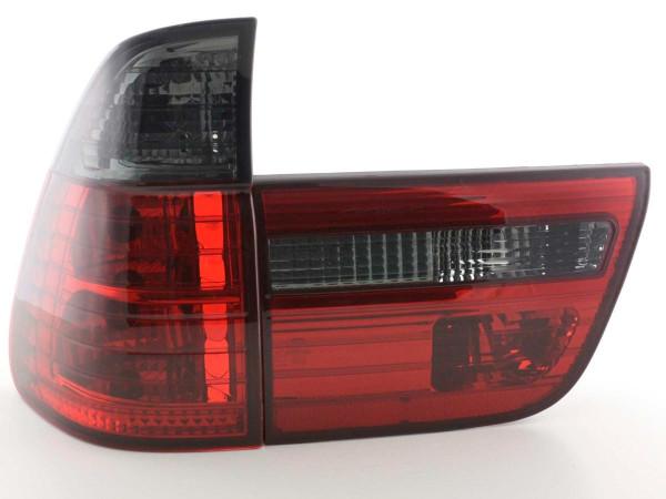 Taillights BMW X5 type E53 X53 Yr. 98-05 black red