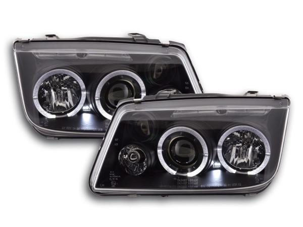 headlight VW Bora type 1J Yr. 98-05 black