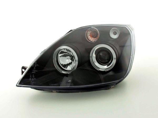 headlight Ford Fiesta type MK6 Yr. 03-07 black