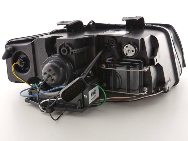 Daylight headlight Set Audi A4 type 8E Yr. 01-04 black