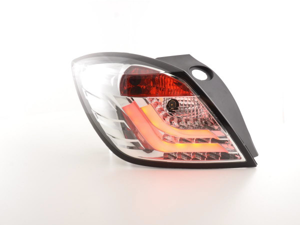 Taillights LED Opel Astra H GTC Yr. 05-07 chrome