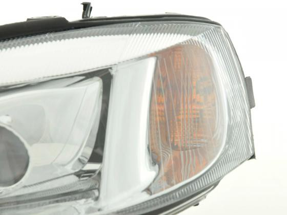 Spare parts headlight left Opel Astra G Yr. 01-04