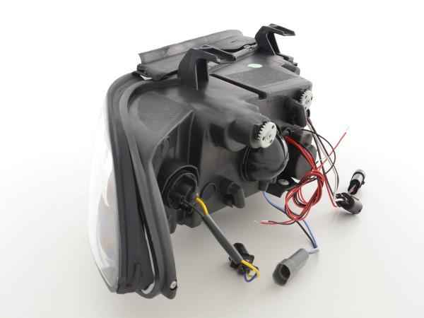 headlight BMW serie 5 type E39 Yr. 95-00 black