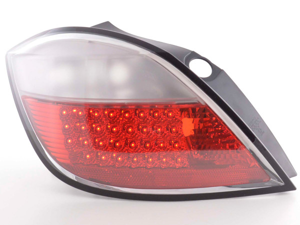 Led Taillights Opel Astra H 5-dr Yr. 04- red/clear