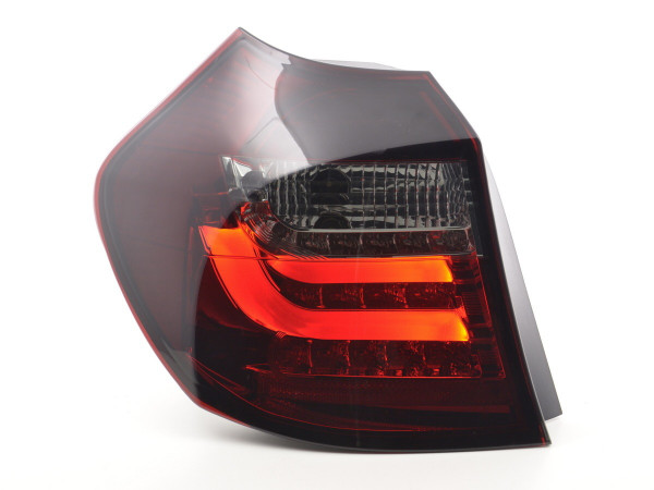 Led Taillights BMW serie 1 E87/E81 3/5-Dr. Yr. 07-11 red/black