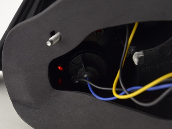 Led Taillights Peugeot 307 Yr. 01-04 black