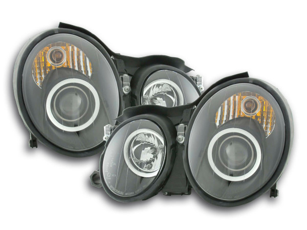 headlight Mercedes CLK type W208 Yr. 98-02 black