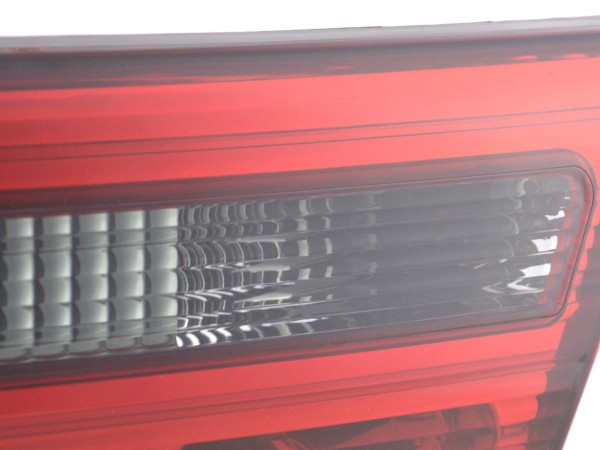 Taillights BMW X5 type E53 X53 Yr. 98-05 black red