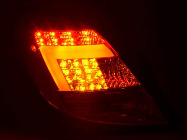 Taillights Set LED Opel Corsa D 5-dr Yr. 06-10 chrome