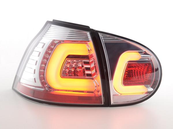 Led Taillights VW Golf 5 Yr. 03-08 chrome