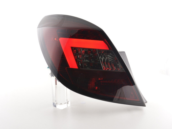 Led Taillights Opel Corsa D 5-Dr. Yr. 06-10 red/black