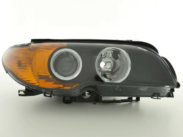 Spare parts headlight right BMW serie 3 E46 Coupe Yr. 03-06, black