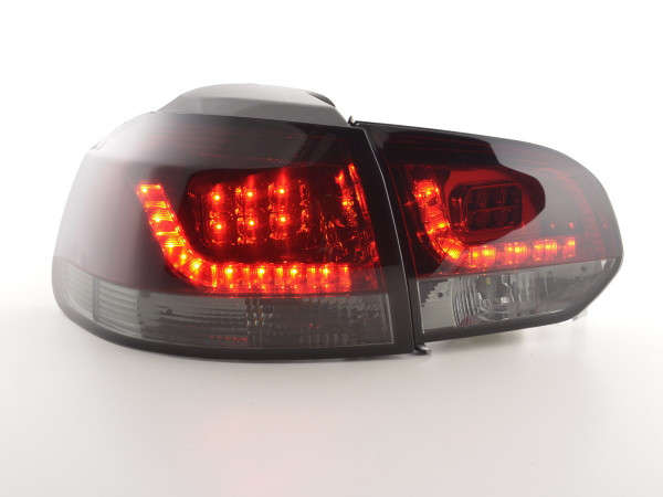 Led Taillights VW Golf 6 type 1K Yr. 2008-2012 red/black