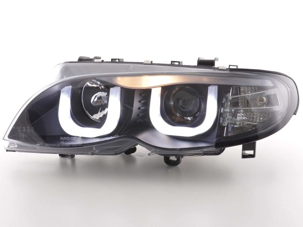 Angel Eye headlight BMW serie 3 E46 saloon/Touring Yr. 02-05 black