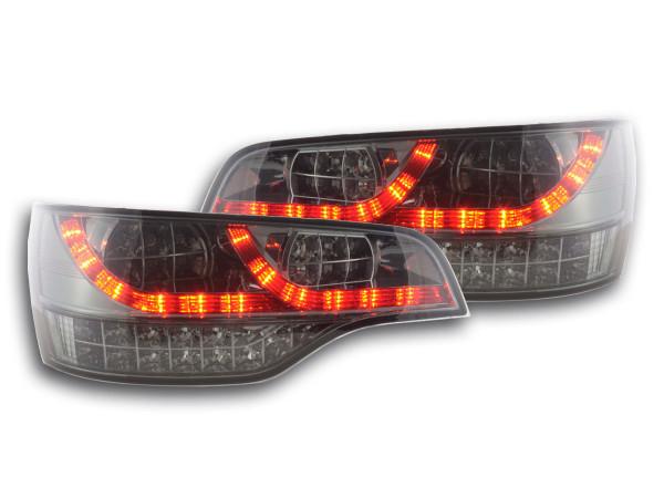 Led Taillights Audi Q7 type 4L Yr. 06- black