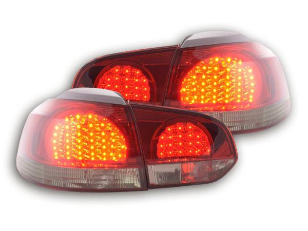 Led Rear lights VW Golf 6 type 1K Yr. 08- black/red