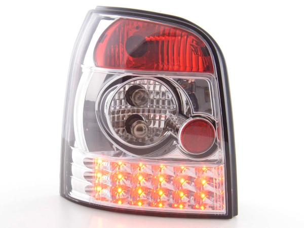 Led Taillights Audi A4 Avant type B5 Yr. 95-00 chrome