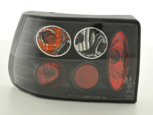 Taillights Opel Astra F Yr. 91-98 black