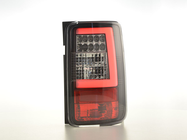 LED taillights set Lightbar VW Caddy 2K 03-15 black