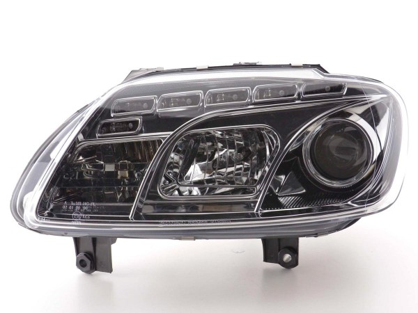 Daylight headlight VW Touran type 1T / VW Caddy type 2K chrome