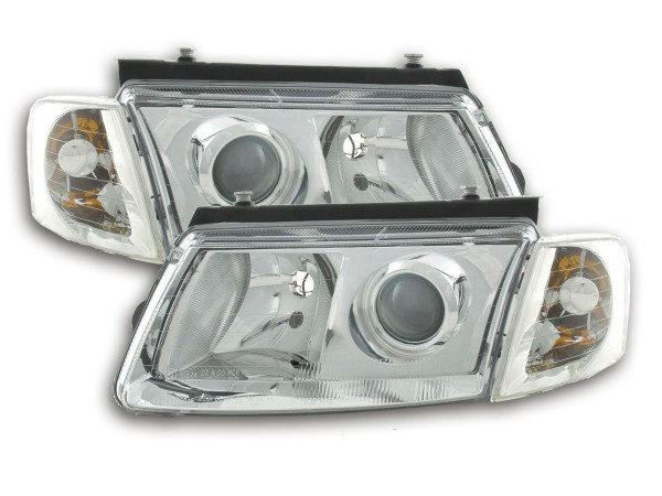 headlight VW Passat type 3B Yr. 97-00 chrome