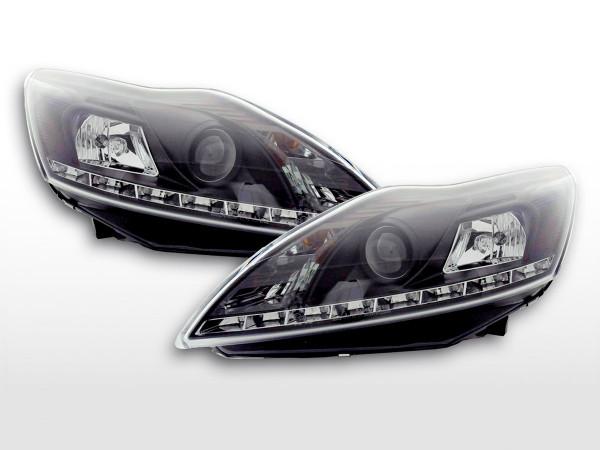 Daylight headlight Ford Focus 3/5-door. Yr. 08- black