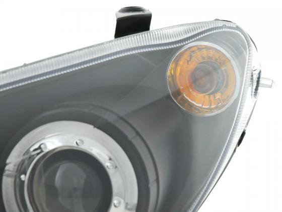 headlight Peugeot 307 Yr. 01-06 black