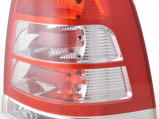 Spare parts Taillights right Opel Zafira type B Yr. 08-