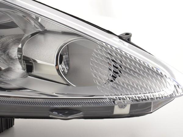 Spare parts headlight right Ford Fiesta 7 (JA8) 3-/5-door., chrome