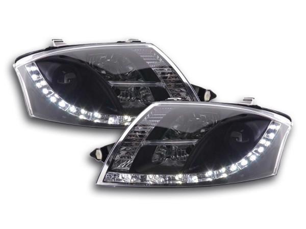 Daylight headlight Audi TT type 8N Yr. 99-06 black