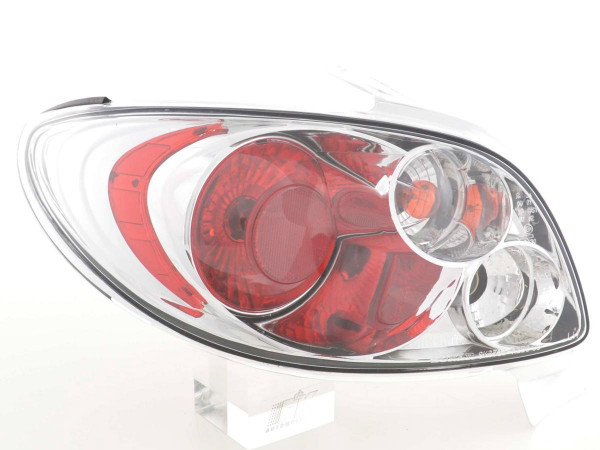 Taillights Peugeot 206 CC type 2*** Yr. 99-06 chrome