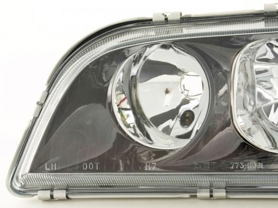 Spare parts headlight left Volvo S40/V40 (type V) Yr. 98-00