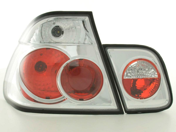 Taillights BMW serie 3 saloon type E46 Yr. 01-05 chrome