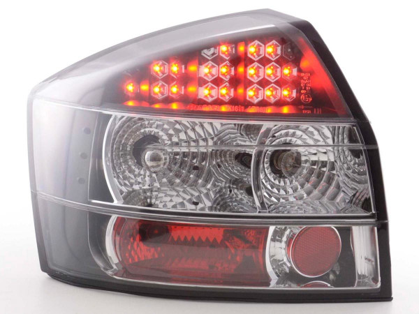 Led Taillights Audi A4 saloon type 8E Yr. 01-04 black