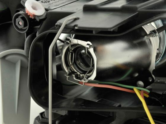 Spare parts headlight left Audi A6 (type 4B) Yr. 01-04