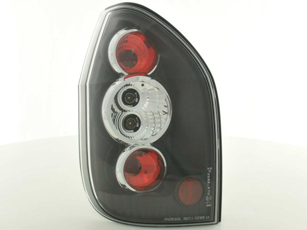 Taillights Opel Zafira type T98 Yr. 99-04 black