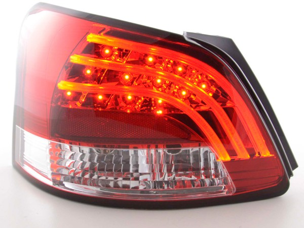 Led Taillights Toyota Yaris Vios Yr. 08- red/clear