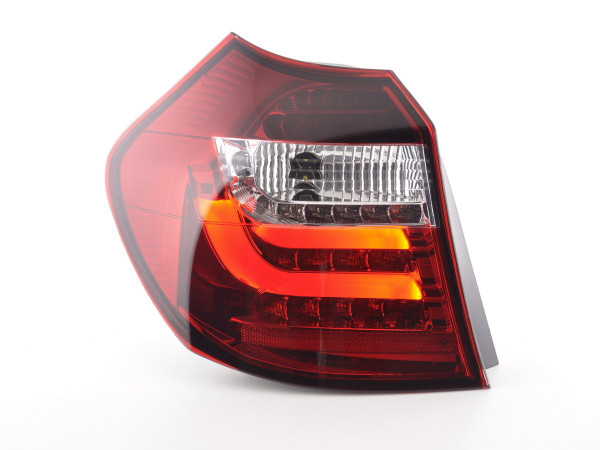 Led Taillights BMW serie 1 E87/E81 3/5-Dr. Yr. 07-11 clear/red