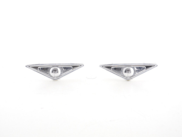 Side Indicator Ford Focus 1 3/4/5-Dr. Yr. 98-03 chrome